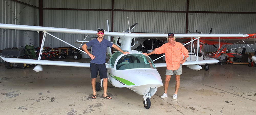 Patt Karr LSA seaplane Testimony