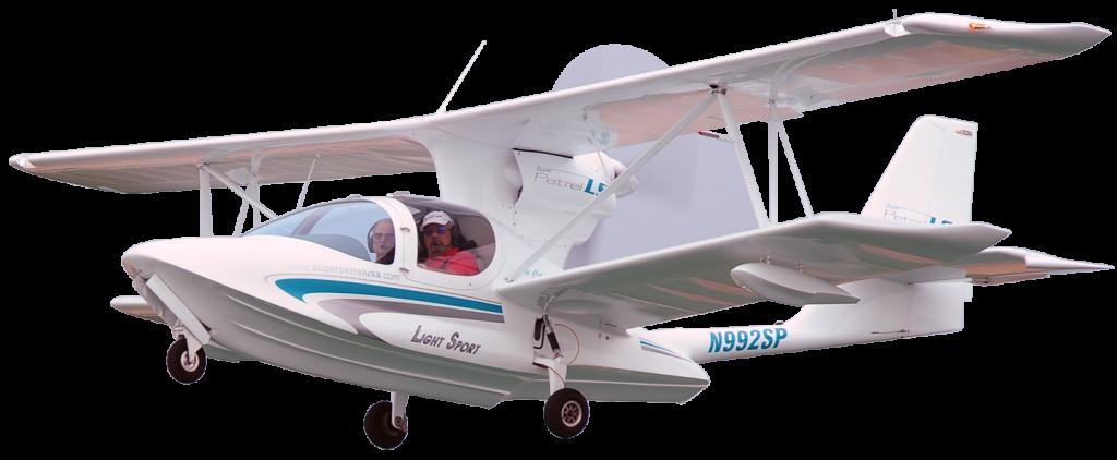 Super Petrel LS Flying High