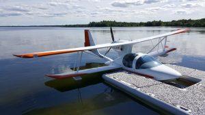 Amphib LS Aircraft Docking On Water