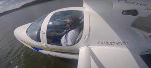 Light Sport Aircraft Gear Up For Water Landing