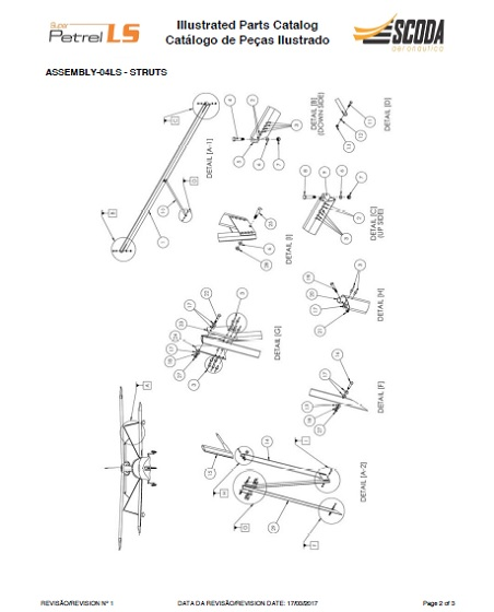 Struts Parts Catalog